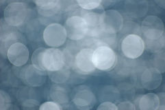 Blue Bokeh Abstract. Royalty Free Stock Photos