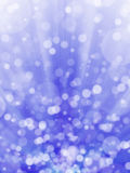 Blue bokeh abstract background Stock Photos