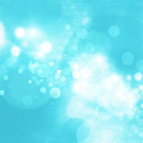 Blue bokeh abstract background Stock Photo