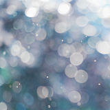 Blue bokeh. Abstract background. Color Bokeh  for use at graphic design Stock Photo