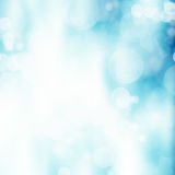 Blue bokeh abstract background Royalty Free Stock Photo