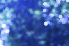 Blue bokeh Royalty Free Stock Image