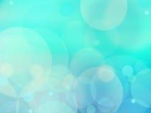 Blue bokeh abstract green background Stock Photos