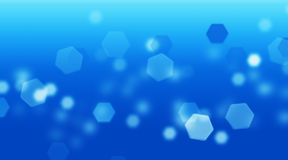 Blue bokeh. Abstract light background Royalty Free Stock Photography