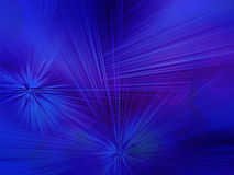 Blue bokeh abstract light background Stock Images