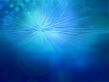 Blue bokeh abstract light background Stock Photography