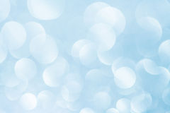 Blue bokeh abstract light background. Blue bokeh abstract light sea sky background royalty free stock photos