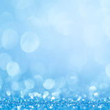 Blue bokeh abstract light backgrounds royalty free stock photos