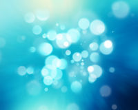 Blue bokeh background Stock Photos
