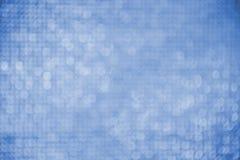 Blue bokeh background. Stock Image