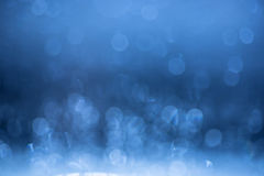 Blue bokeh background. Stock Images
