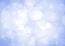 Blue bokeh background Stock Photography