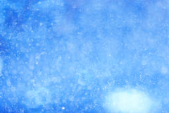 Blue bokeh background Royalty Free Stock Photo