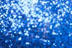 Blue bokeh background royalty free stock photos