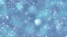 Blue bokeh background created by neon lights. 3d rendering Stock Photography