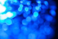 Blue bokeh. Stock Photo