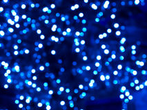 Blue bokeh Stock Images