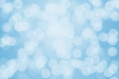 Blue bokeh light. For background Stock Photography
