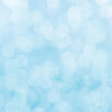 Blue bokeh light for background.  Royalty Free Stock Photography