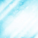 Blue bokeh and light background - Abstract background Royalty Free Stock Images