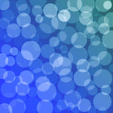 Blue bokeh texture Royalty Free Stock Images