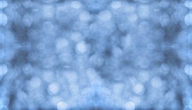 Blue Bokeh Wall/Background Royalty Free Stock Photo