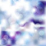 Blue Bokeh winter Royalty Free Stock Images