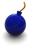 Blue bomb Stock Photos