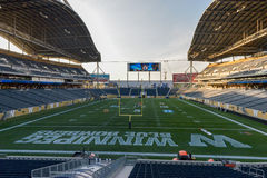 Blue Bombers Stock Photography