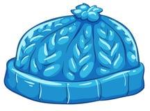 A blue bonnet. Illustration of a blue bonnet on a white background royalty free illustration