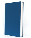 A blue book. A decorative blue book on standing Stock Images