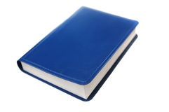 Blue book Stock Images