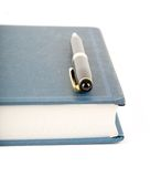 Blue book Royalty Free Stock Images