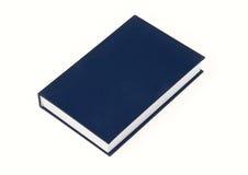 Blue book. On white background stock photos