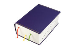 Blue book Stock Image