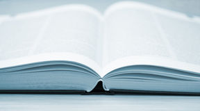The blue book. Stock Photography