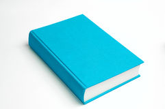 Blue book isolated royalty free stock photography
