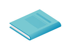 Blue book Royalty Free Stock Photo