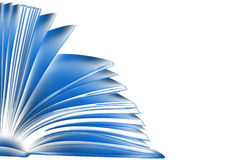 Blue book. sketch style illustration Royalty Free Stock Photos