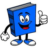 Blue Book with Thumbs Up Stock Photos
