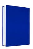 Blue books on white background isolated Royalty Free Stock Photos