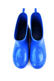 Blue boots Royalty Free Stock Image