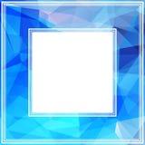 Blue border Stock Image