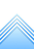 Blue border arrow lines background Royalty Free Stock Photos