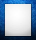 Blue border frame Stock Photos