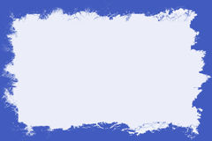 Blue Border With White Center. Rectangular blue border with blank white center area for text Stock Illustration