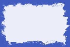 Blue Border With White Center. Rectangular blue border with blank white center area for text stock illustration