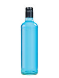 Blue bottle blank. Blue generic botle for generic porpouses Stock Images