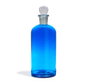 Blue Bottle Stock Image