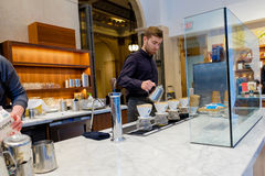 Blue Bottle Coffee San Francisco Royalty Free Stock Image
